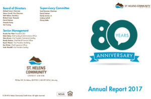white background with 80 years anniversary logo and
