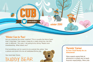 Kids CUB Newsletter - Winter 2016
